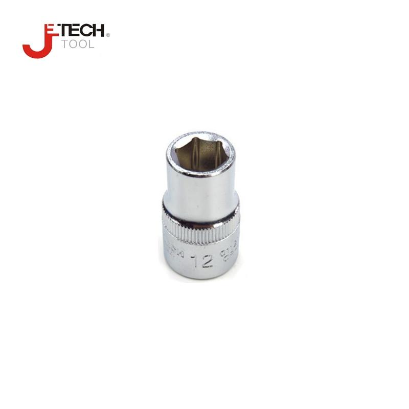 "Jetech 1 piece 1/2"" drive 6PT socket wrench standard size 8mm to 21mm 22mm 23mm 24mm 25mm 26mm 27mm 28mm 29mm 30mm 32mm sockets"