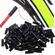 100Pcs Fiets Fietsen Brake Kabel Crimps Behuizing Plastic End Tips Caps 4mm Fietsonderdelen xian
