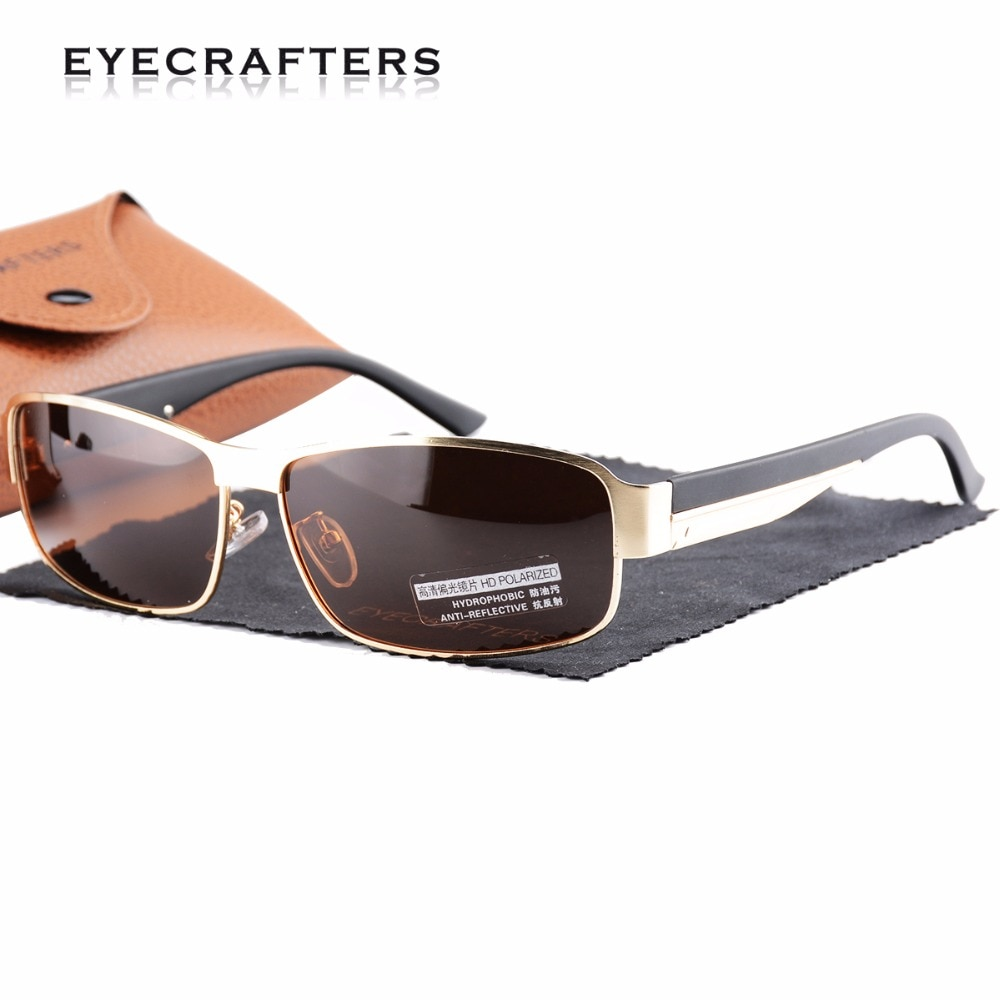 Brand New Mens Driving Sunglasses HD Polarized UV400 Mirror Sunglasses Male Sun Glasses Women For Men Eyewear Oculos de sol