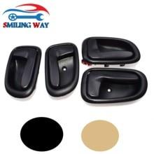 Smilery WAY – poignée de porte intérieure Beige/noir, pour Toyota Corolla Geo Prizm 1993 1994 1995 1996 1997