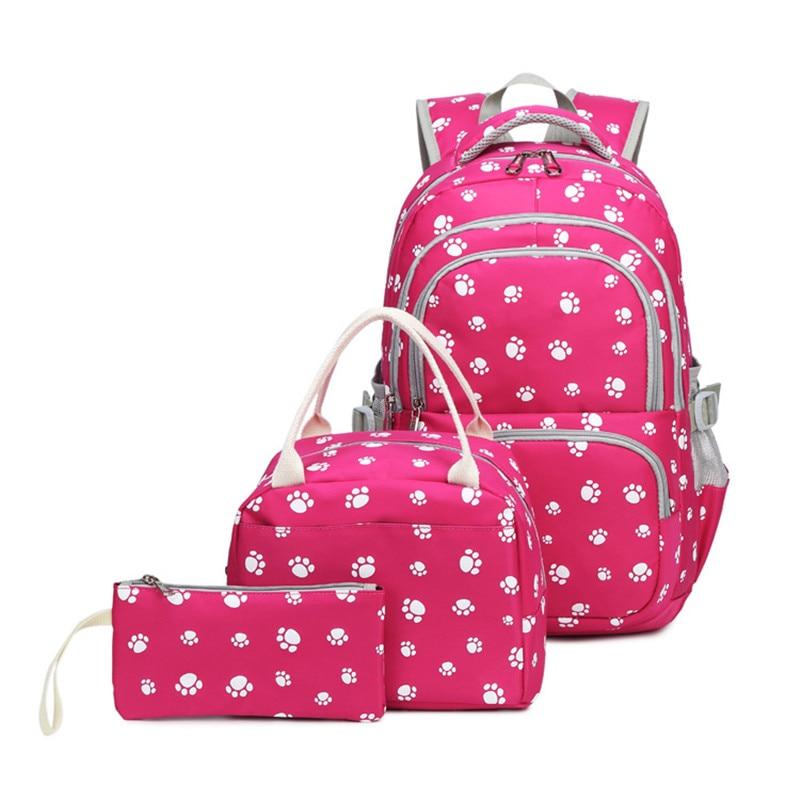 Школьные рюкзаки для девочек, детские рюкзаки, школьные ранцы, детские рюкзаки, модная сумка для книг с принтом