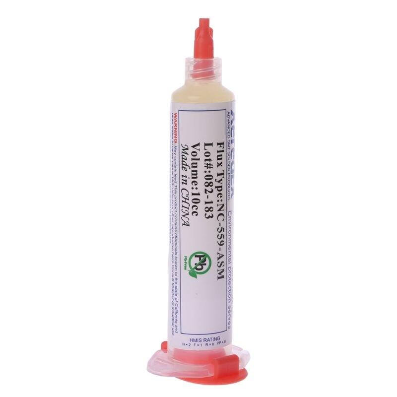 Avanzado BGA SMD pasta de soldadura flujo grasa volumen 10cc NC-559