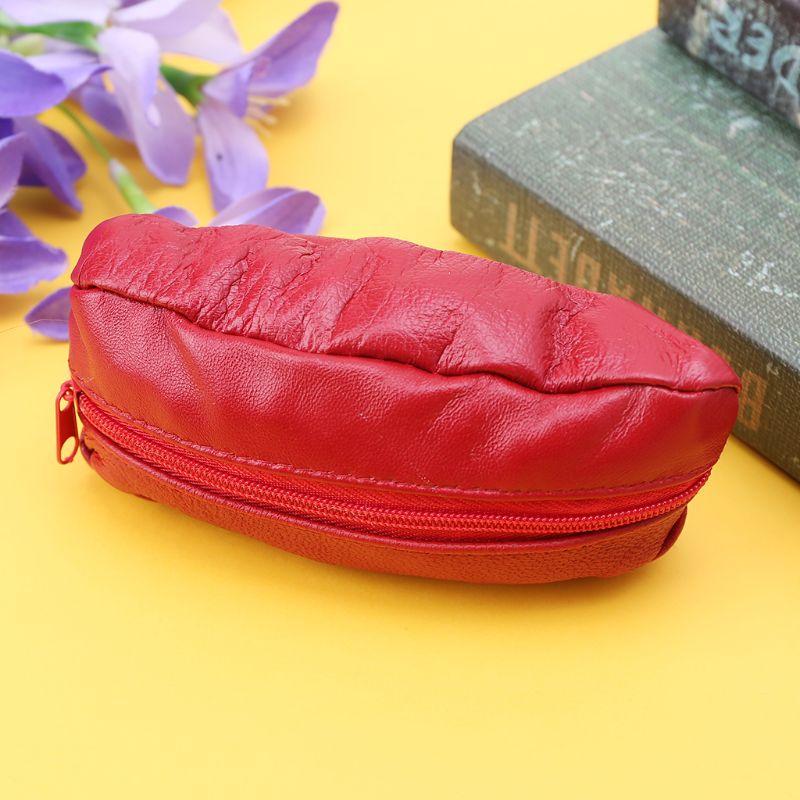 1 pc Fashion Men Women Girls Key Ring Wallet Pouch Coin Card Mini Purse Zipper Small Change Bag