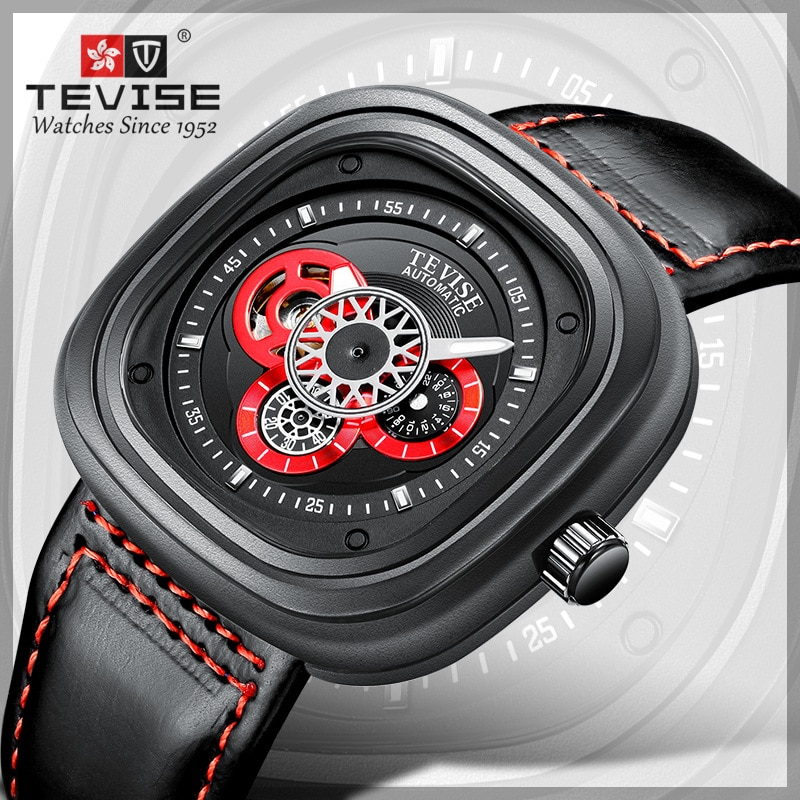 2019 Tevise Brand Men Mechanical Watch Fashion Luxury Clocks Man Watches Automatic Wristwatch Waterp