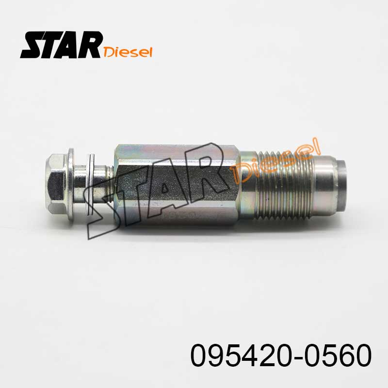 Star Diesel Fuel Injector Relief Valve 095420-0560 Engine Common Rail Parts Pressure Limiter Valve 095420 0560