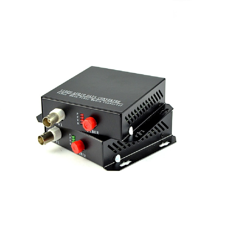 1CH +RS485 Data digital Video Optical converter fiber optic video optical transmitter and receiver multiplexer enlarge