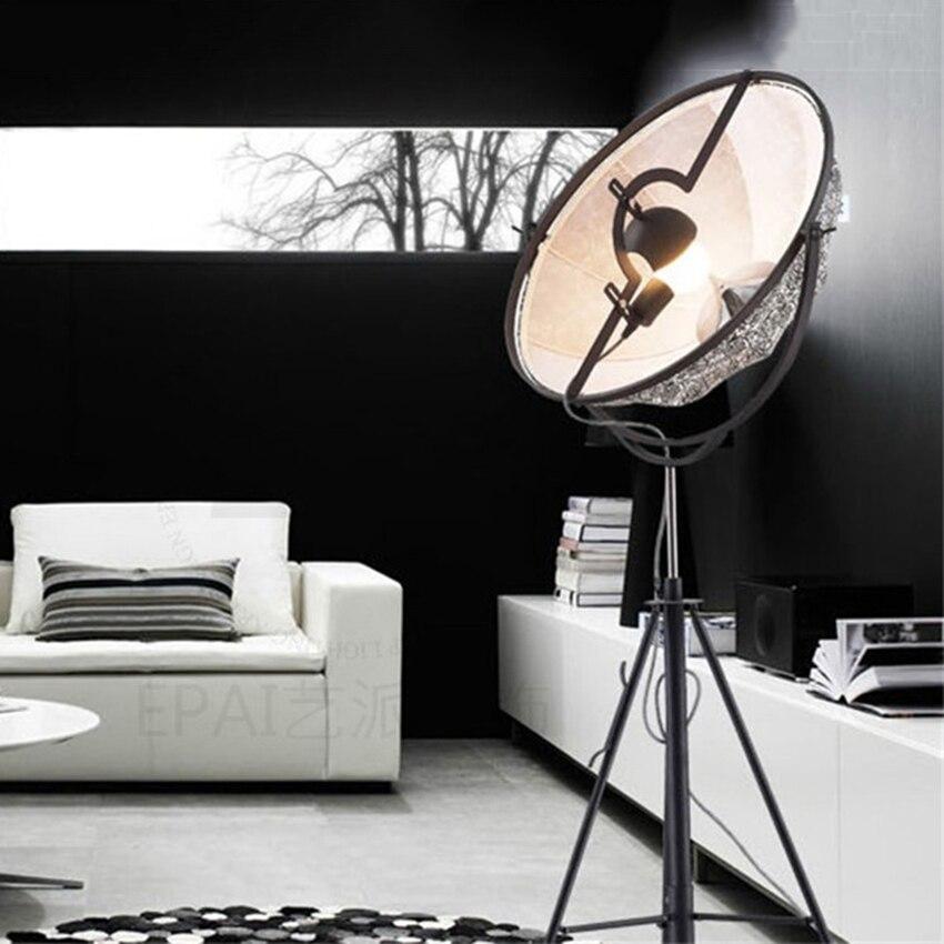 Moderne Lampe Klassische Boden Licht Lightng Led Boden Lampe Fotografie Einstellbare Satellite Form Foto Studio Wohnzimmer Leuchten