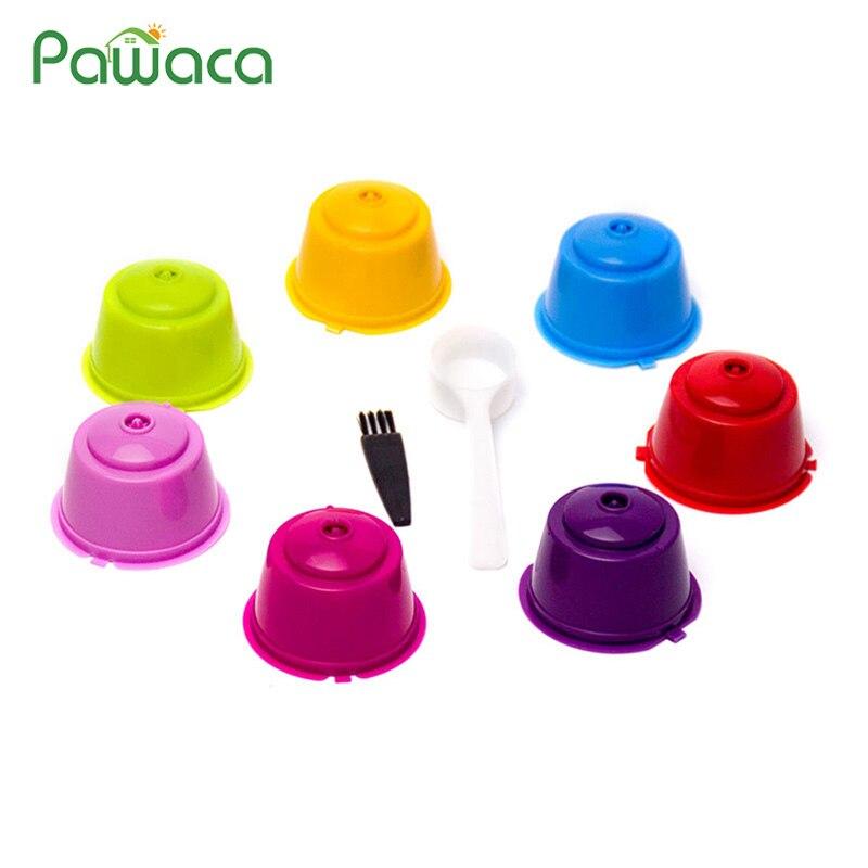 Cápsula de filtro de café reutilizable, tazas cápsulas rellenables para Dolce Gusto General, Circolo/Genio/Melody, cafetera, bebida Para el hogar