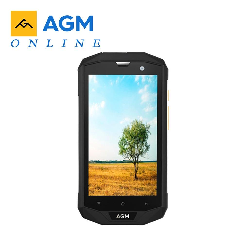 AGM A8-Smartphone 4G IP68, resistente al agua, Android 7,0, 5,0 pulgadas, MSM8916, Quad Core, 1,2 GHz, 3GB RAM, 32GB ROM, 13,0 MP, batería de 4050mAh