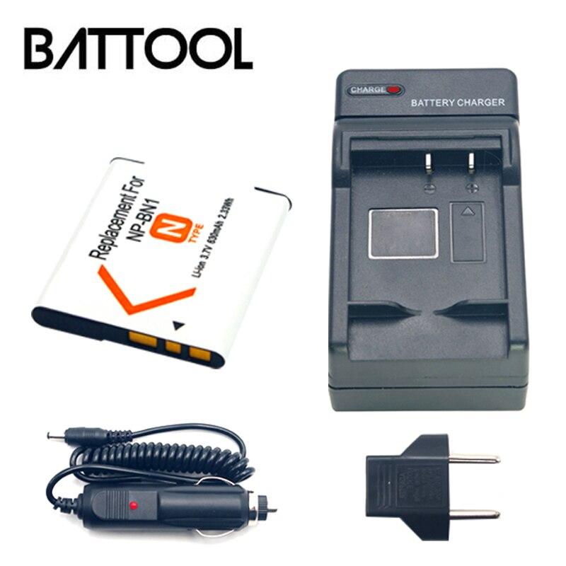 1X NP-BN1 nbn1 batería recargable de Li-ion + cargador de batería para Sony Cyber-Shot DSC S750 DSC S780 w630 TX5 W310 T99