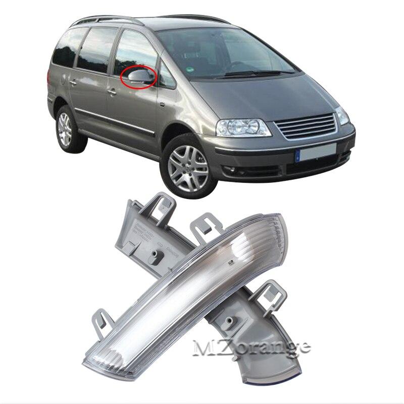 Estilo de coche MZORAGNE Led derecho/Espejo lateral izquierdo con luces intermitentes indicadoras de giro para volkswagen SHARAN 1996-2010 para Passat