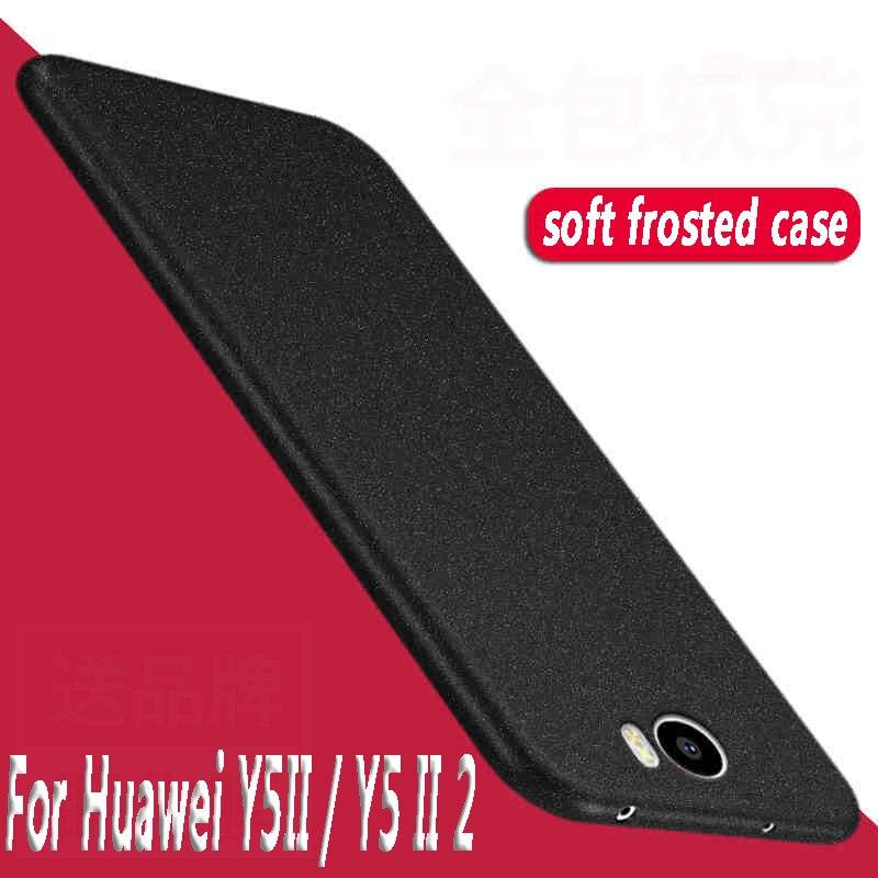 Высокое качество для Huawei Y5II/Y5 II 2 силиконовый чехол песчаник Мягкий ТПУ защитный чехол для телефона на Huawei Y5II/Y5 II 2 кольцо