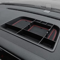 car dashboard storage box container interior stowing tidying accessories for volkswagen vw tiguan mk1 2016 2015 2014 2013 2012