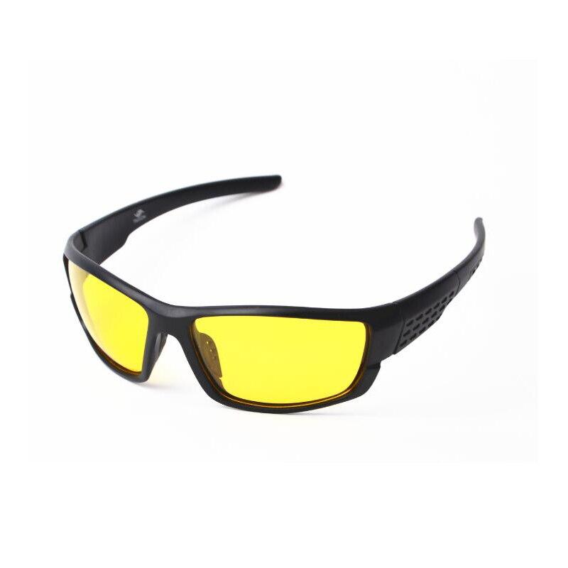 2018 NEW Polarized Sunglasses Men Sport Sun glasses Brand Designer Night Vision Night Driving Enhanced Light anti-glare UV400