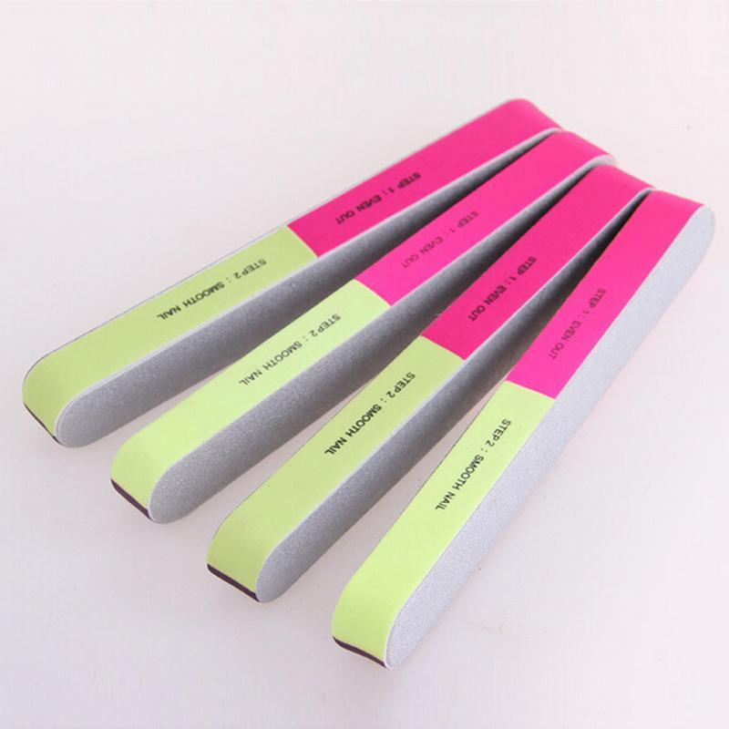Новый хит продаж пилка для ногтей с шести стороны матовые профессиональные инструменты для маникюра Прямая поставка 17,8*2,4*1,8 см