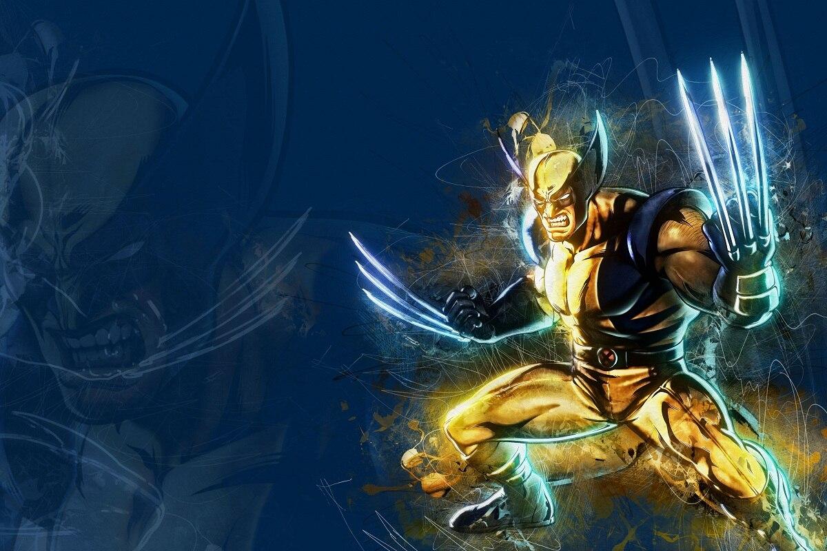 Fantasy Marvel comics Wolverine superhero MD278 niestandardowe dekoracje ścienne plakat z tkaniny (ramka dostępna) do dekoracji pokoju wystrój domu