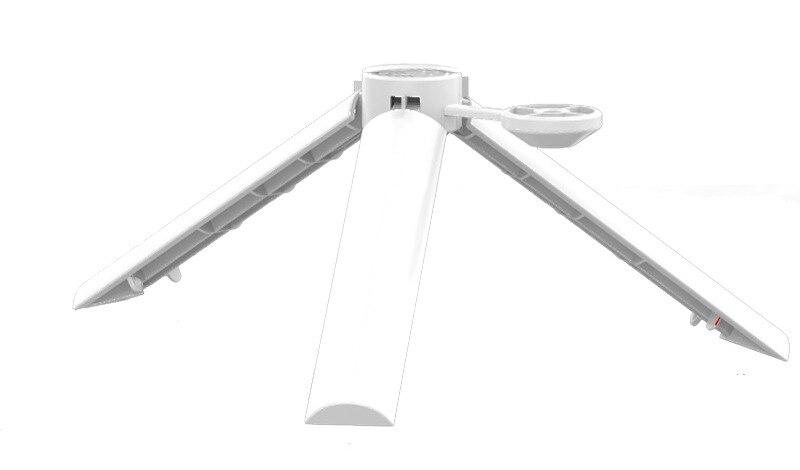 Soporte de trípode de escritorio de plástico + Alu mi num aleación PTZ cardán varilla de extensión para Xiaomi mi Drone 4K accesorios de mano