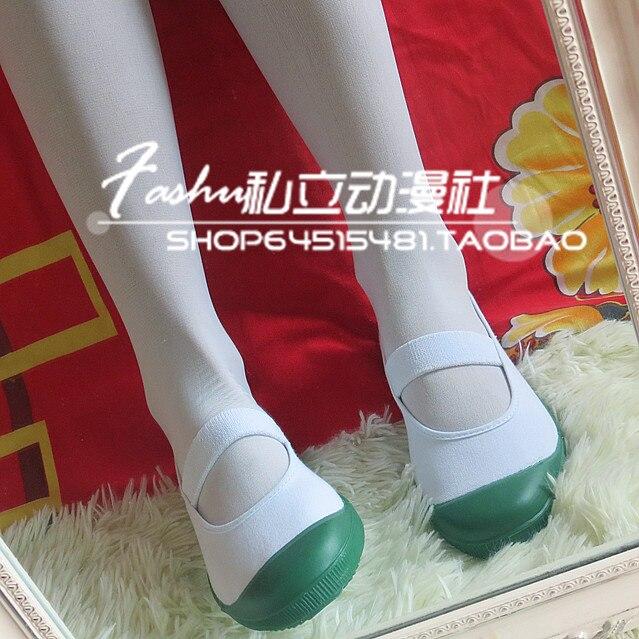 SCHOOL-LIVE! takeyayuki Indoor gym shoes cosplay shoes green