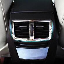 Paslanmaz çelik trim çıkış klima dekorasyon daire kapak sticker opel Insignia Için sedan Sport Tourer 2010-2014
