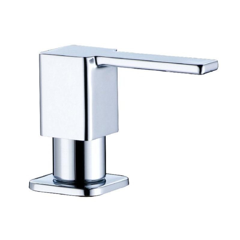 Chrome Brass Square Soap Dispenser Fit for Kitchen Sink 3630002