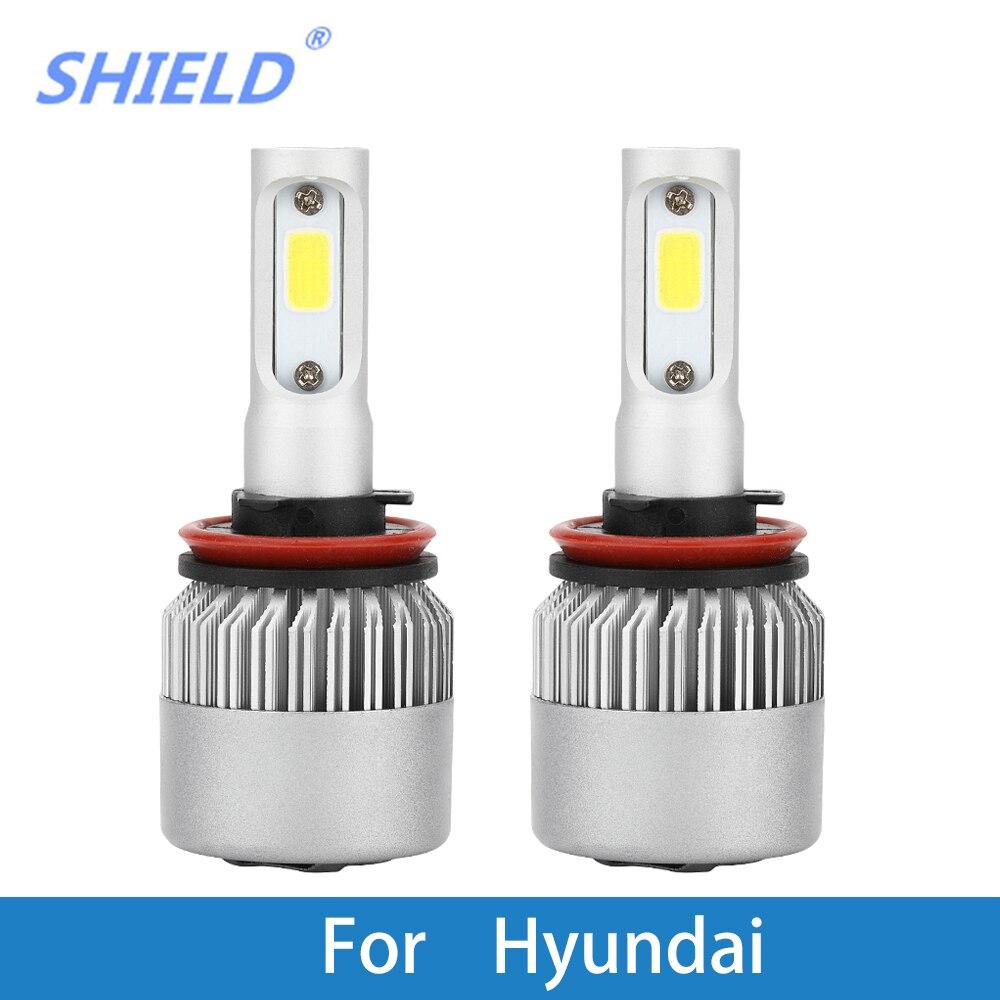 Ampoule de phare de voiture   Phare automatique pour Hyundai XG350/XG300/Veracruz/Veloster/Tucson/Tiburon/Sonata/Santa, 9005 12V