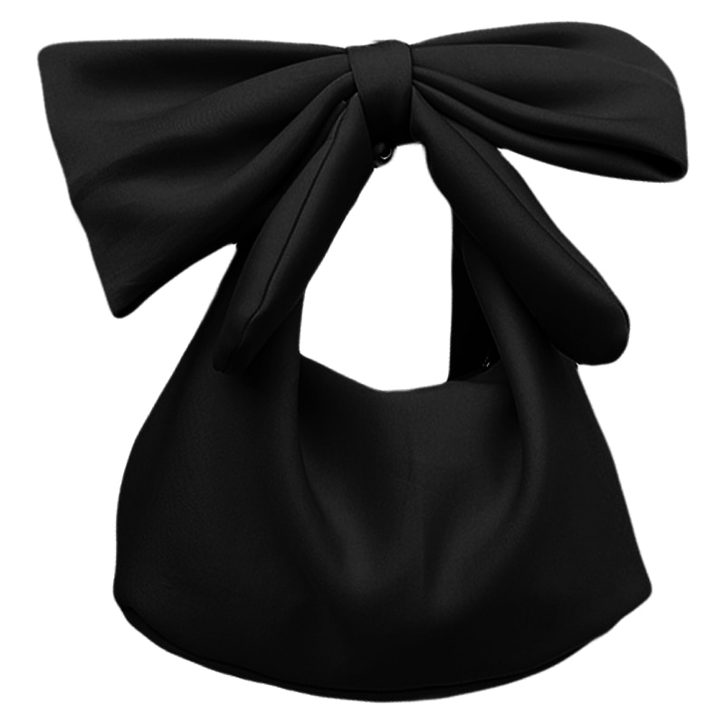 New Women Handbags Bowknot Clutches Bag Ladies Evening Party Clutches Handbag Shoulder Bag