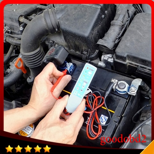 New arrival Car BioPower TECH Vehicle Charging System Analyzer Battery Tester auto circuit tester car repair tool