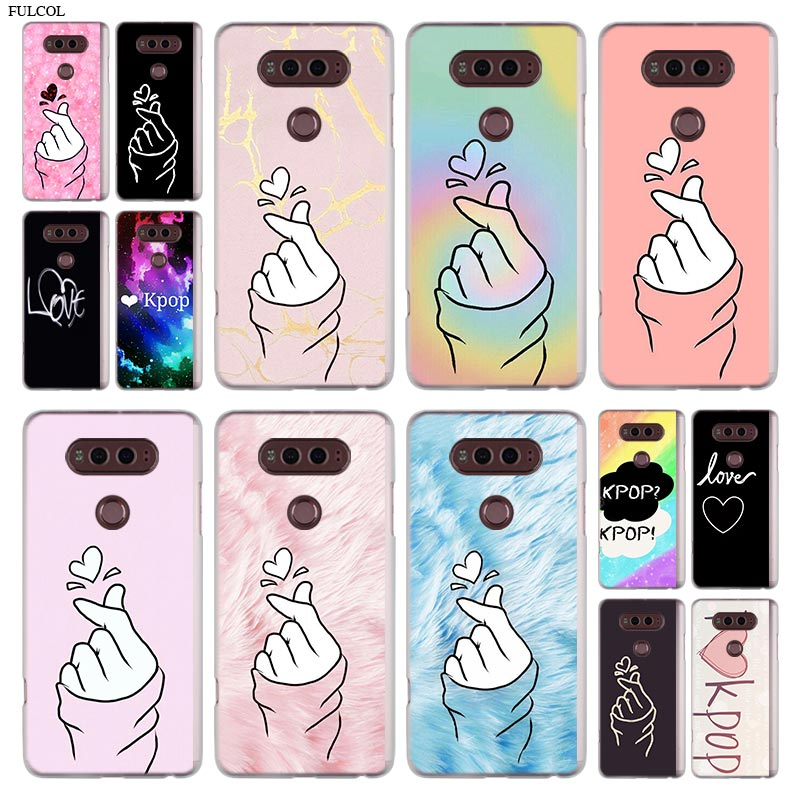 love kpop Phone Case For LG Q6 a G7 G6 G5 G4 G3 V30 V20 K8 K8 K10 2018 K10 K8 2017 STYLUS STYLO 3 M700 Cover