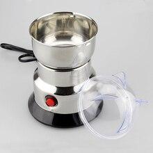 Moulin à Grains De Malt à café complet   Ustensile De Grains entiers, aliments écrasés mélangeur poivre moulin à sel, Mini broyeur à café