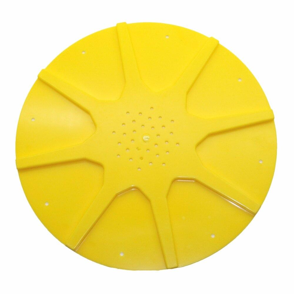 5 piezas de la apicultura de control de vuelo colmena amarillo de plástico anti-escape apicultura equipo venta al por mayor