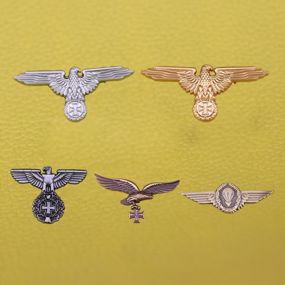 Ww2 Немецкий Орел значок с крестом, Германия