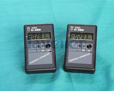 Detector de radiación Geiger de alta sensibilidad de tamaño bolsillo FJ2000 con tubo GM rayos X Gama