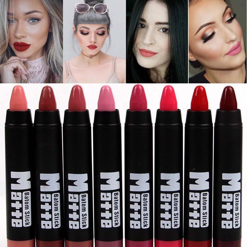 8 видов цветов MISS ROSE брендовая губная помада, комплект для губ телесного цвета, длительного действия, блеск для губ, пигментная бархатная помада, матовый набор для губ, палочка для губ