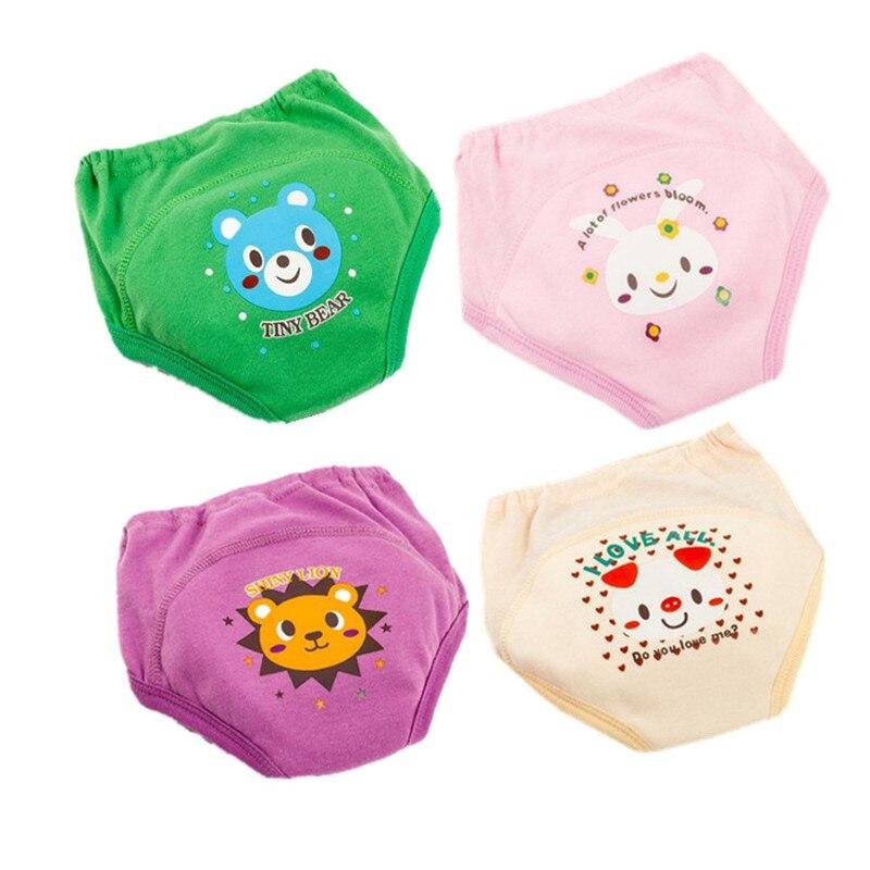 Töpfchen Hosen Baby Windeln für Kleinkind Junge Mädchen Höschen Wiederverwendbare Waschbar Tuch Windeln Baby Baumwolle Windeln Wasserdicht