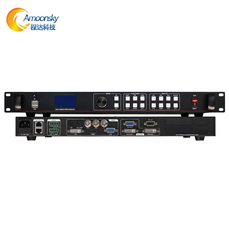 معالج فيديو USB LVP613U ، مشابه لصوت vdwall lvp505 ، وحدة تحكم فيديو لغرفة الاجتماعات ، شاشة led p3