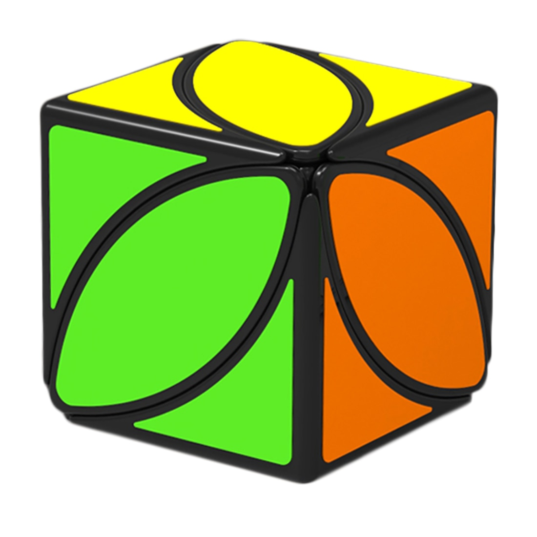 QiYi Cube Mofangge Ivy Cube Fengye Twist Cube of Leaf Line White Color Puzzle Magic Cube Educational Toys cubo magico gift