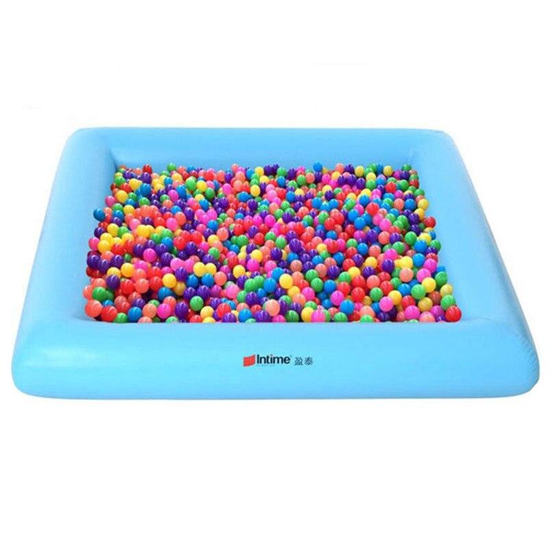 حوض سباحة قابل للنفخ للأطفال ، مسبح تجديف ، ألعاب داخلية وخارجية ، بركة كرة المحيط المحلية للأطفال.