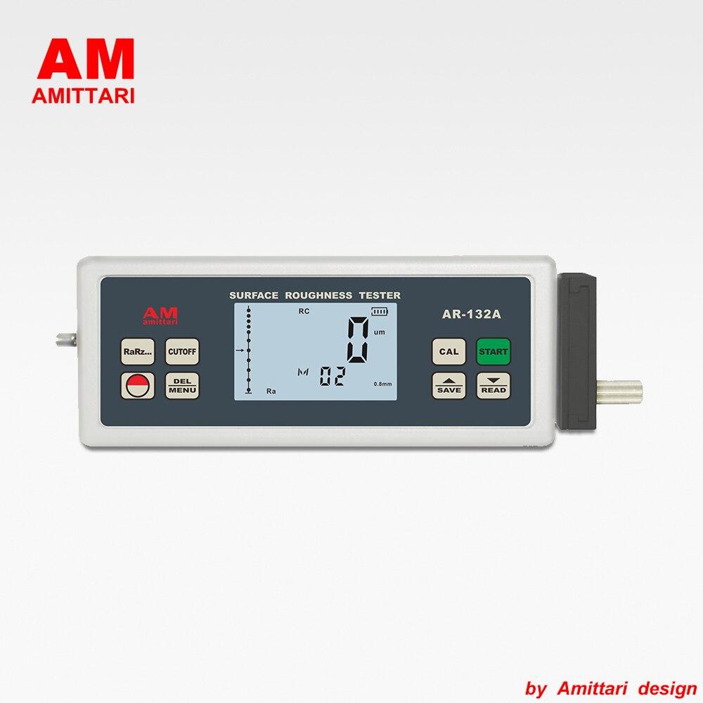 العلامة التجارية حقيقية AMITTARI أداة قياس خشونة الأسطح متر مقياس Ra Rz Rq Rt USB بلوتوث إخراج البيانات