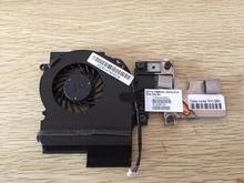 CPU Cooling Fan Voor HP Elitebook 2540 2540 P koeling Heatsink met Ventilator Radiator 598788-001