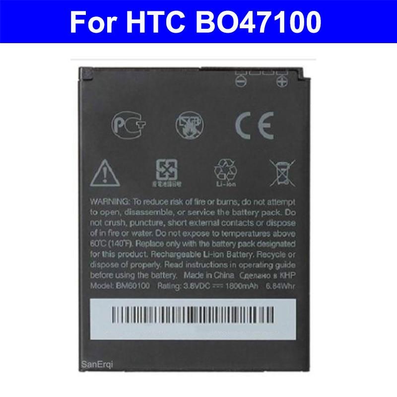 BM60100 BO47100 Батарея для htc Desire 400 500 600 609d C525E T528 T606W T608T 5088 5060 C525c Bateria Аккумулятор 1800 мАч