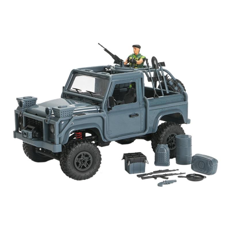 Mn96 1/12 2.4g 4wd controle proporcional rc carro & led luz escalada fora de estrada mini carros rtr veículo brinquedo