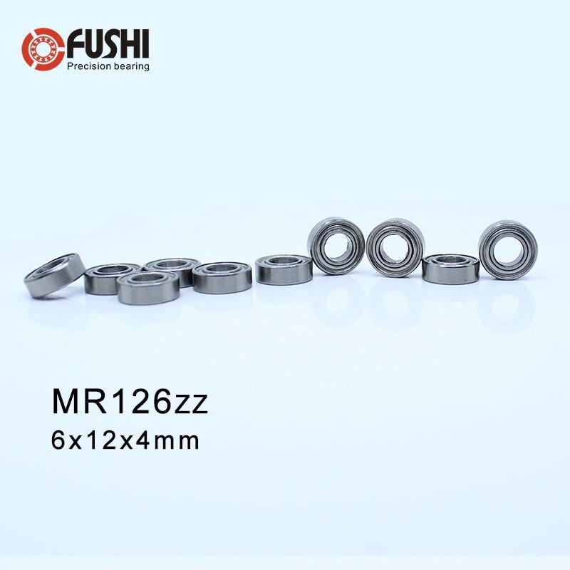 MR126ZZ ABEC-1 (50 PCS) 6 X L-1260ZZ 12X4mm Miniatura Rolamentos de Esferas