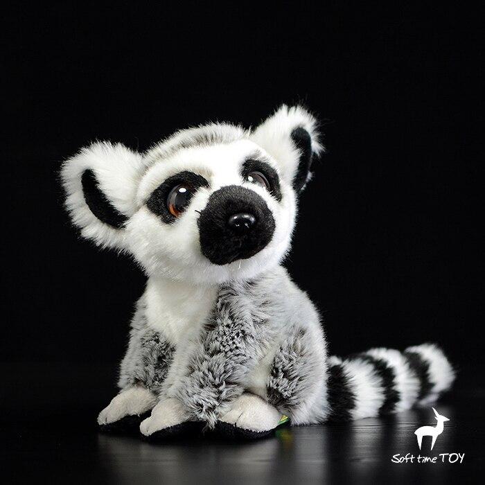 Soft Stuffed Toy  Doll Plush Cute Big eyes Lemur Dolls  Baby Toys Holiday Gifts Women