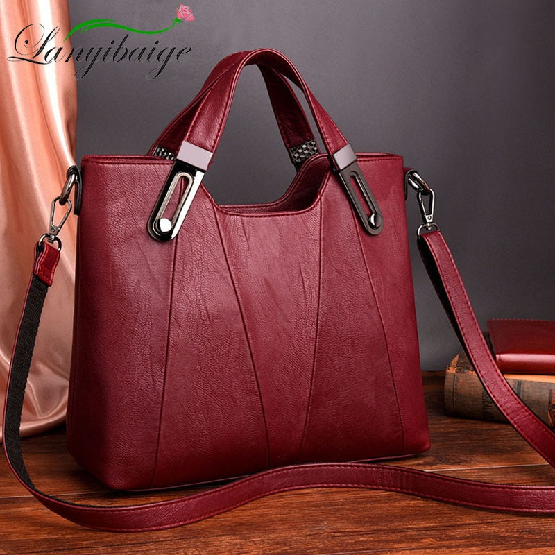 2021 NEW Women Shoulder Messenger Bag Luxury Leather Handbags Women Bags Designer Famous Brand Female Crossbody Bags Sac A Main
