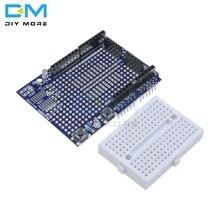 SYB-170 Proto bouclier Prototype carte dextension MINI platine de prototypage sans soudure ATMEGA328P MEGA328 pour Arduino UNO R3 ProtoShield One