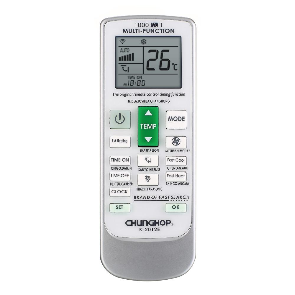 Nuevo controlador de aire acondicionado de Control remoto A/C de pantalla LCD Universal chungtop