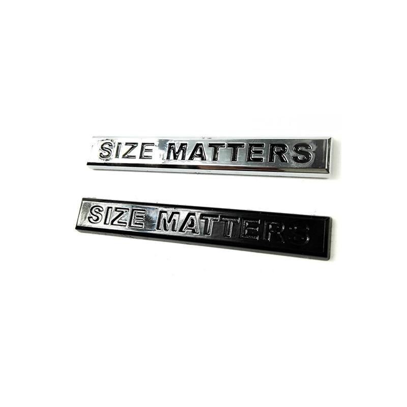 Pegatinas de plástico ABS 3D de tamaño pequeño para coches, insignias de...