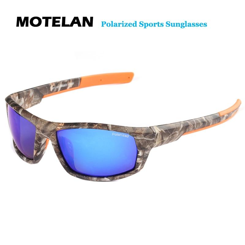 2019 dos homens Novos Óculos Polarizados óculos de Sol Camo Quadro de Condução Óculos de Sol de Design Da Marca Estilo Militar Do Vintage Oculos Masculino