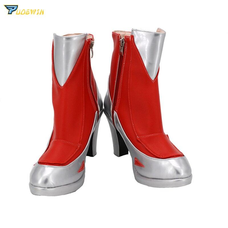 LOL The Blade Dancer Irelia Cosplay zapatos hecho a medida botas