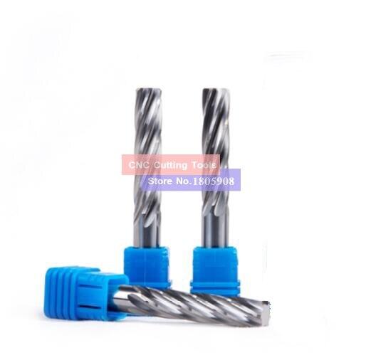 Спиральный расширитель из карбида вольфрама HRC50 с прямым хвостовиком 2 0 16 мм 1 шт.